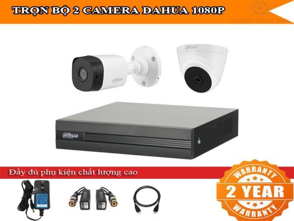 Trọn bộ 2 - 4 camera DAHUA HD1080P cho gia đình