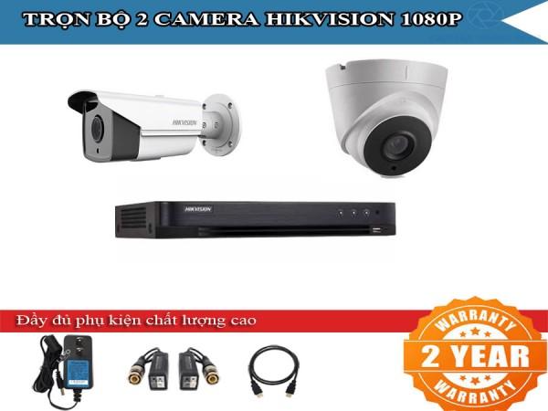 Trọn bộ 2 - 4 camera HIKVISION 2.0mpx cho trường học